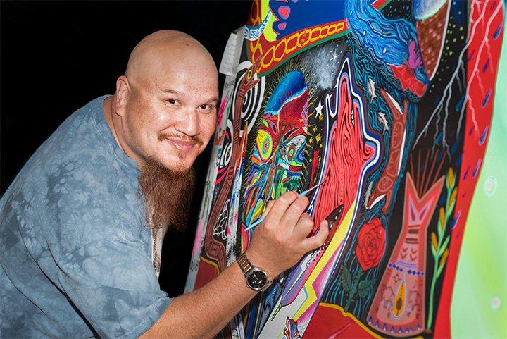 Ojibwe artist